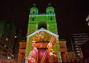 Cenas Natalinas na Catedral de Florianópolis-SC