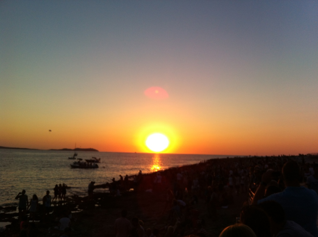 Pôr-do-sol em San Antoni