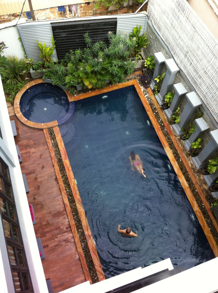 Piscina do Hotel Bayon