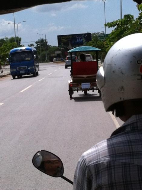 Chegada em Siem Reap