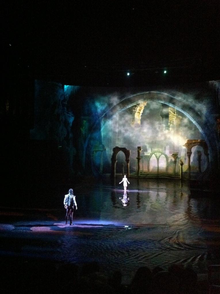 """Uma viagem a Macau valeria a pena somente para ver este espetaculo emocionante """" the house of dancing water"""""""