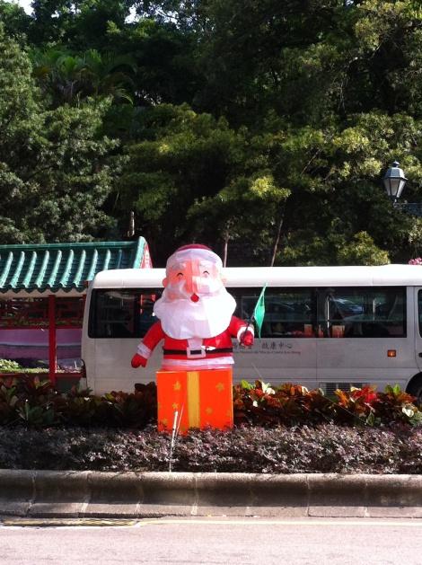 O Natal chegando em Macau