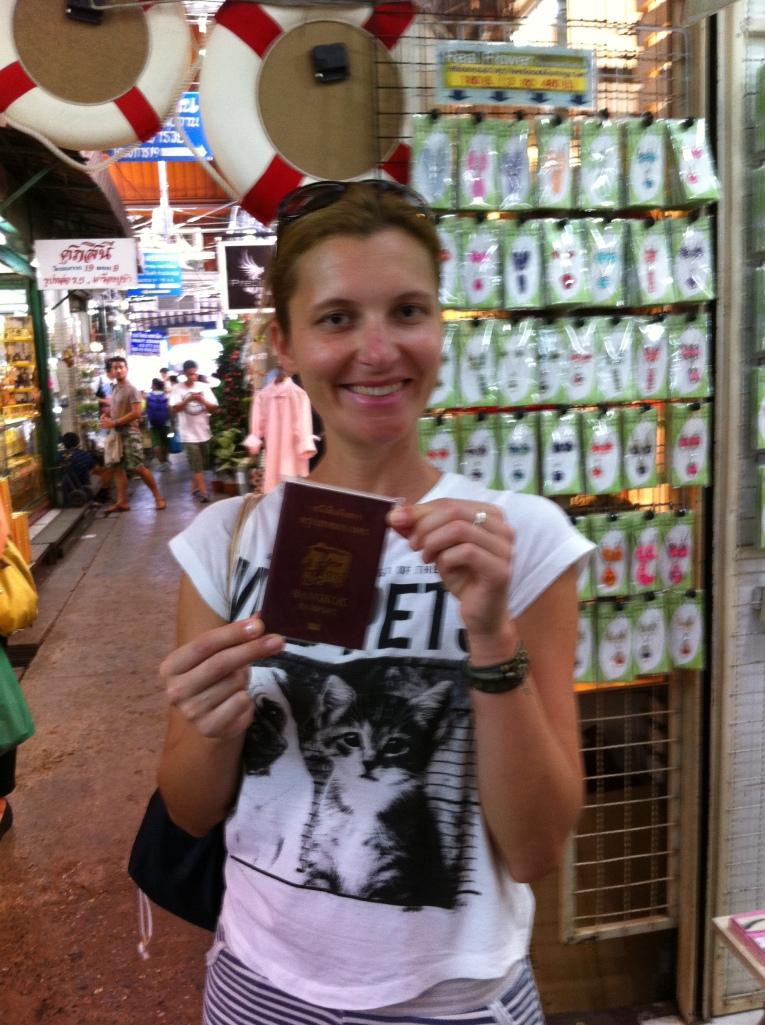 Falsos passaportes