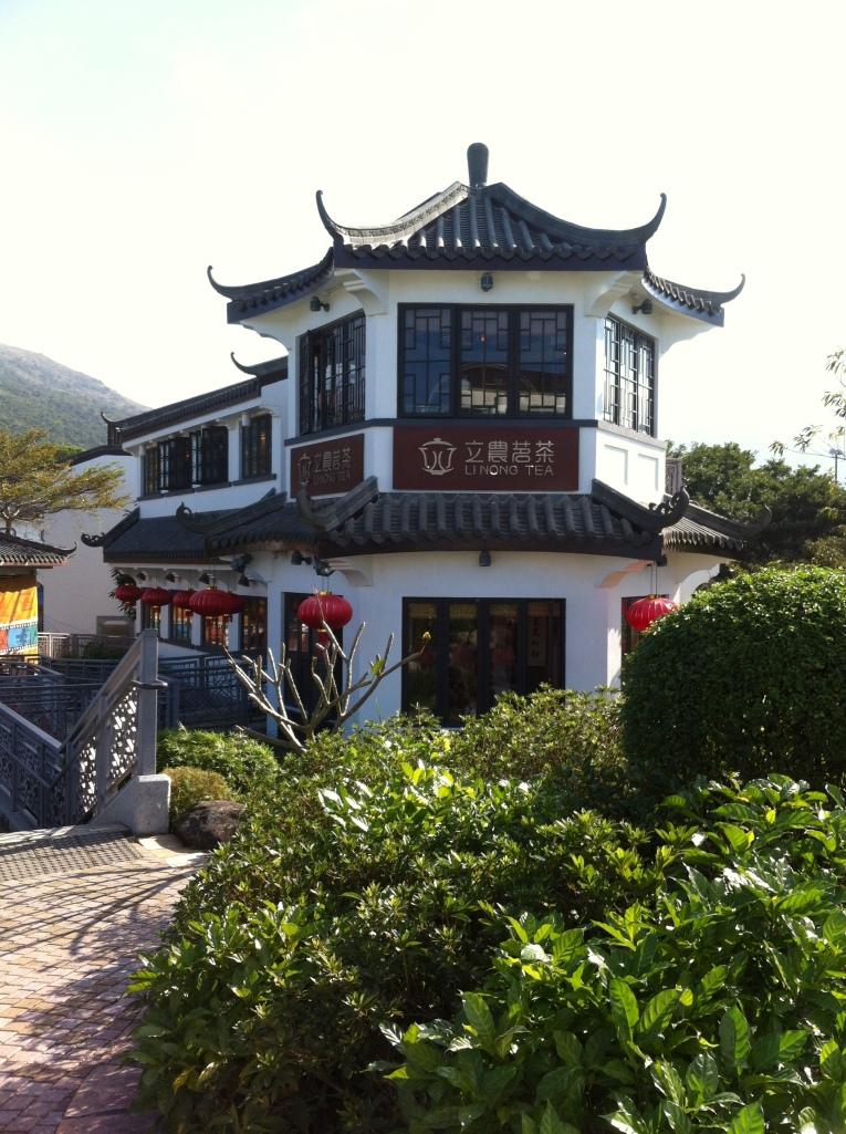 Casa de chá na entrada do Monastério