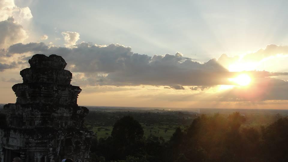 Pôr-do-sol em Phnom Bakheng