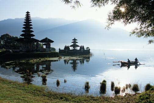 Templo de Pura Ulun Danau em Bali.