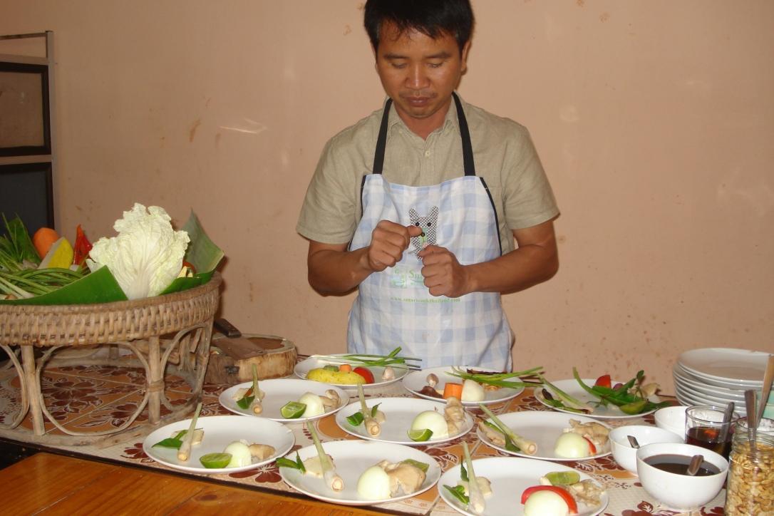 Ingredientes para a preparação dos pratos