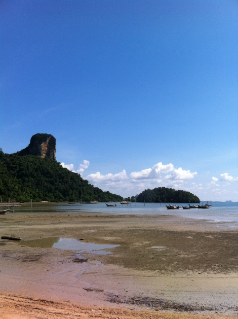 O mangue de Railay East