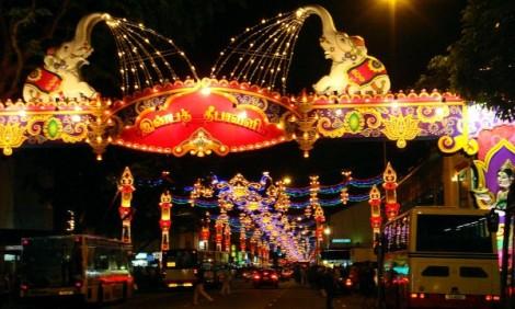 Decoração Natalina em Goa.