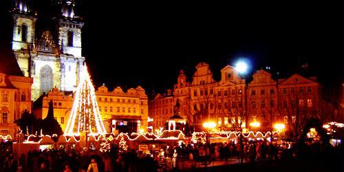 Natal em Praga.