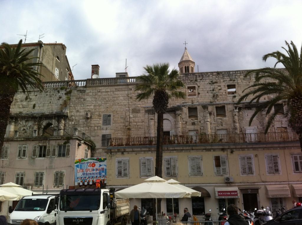 Porta do Palácio de Dioclesiano.