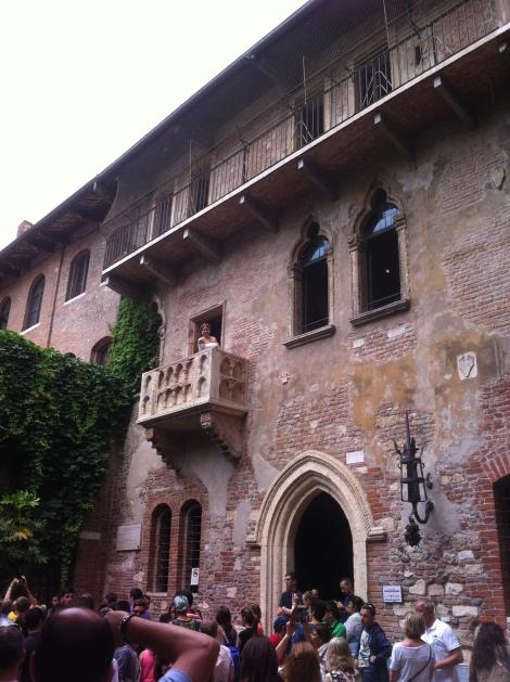 A casa de Julieta.