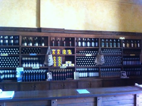 Vinhos Robola para provar e vender.