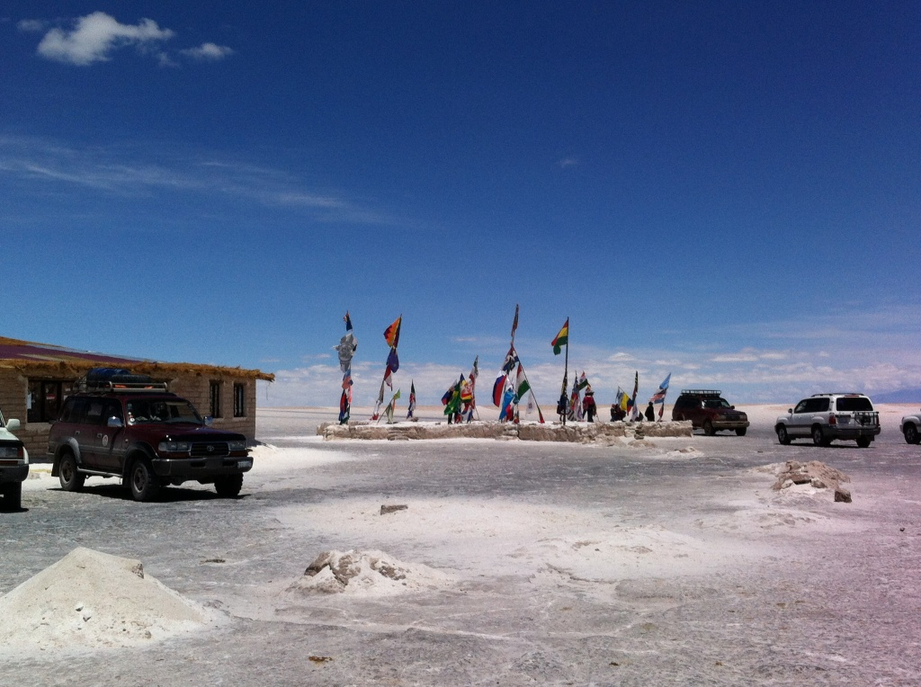 Antigo hotel de sal que hoje abriga um centro de visitantes.