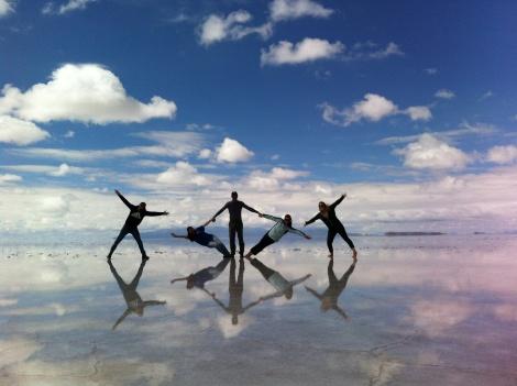 As melhores fotos em perspectiva podem ser feitas proximas a Incahuasi.