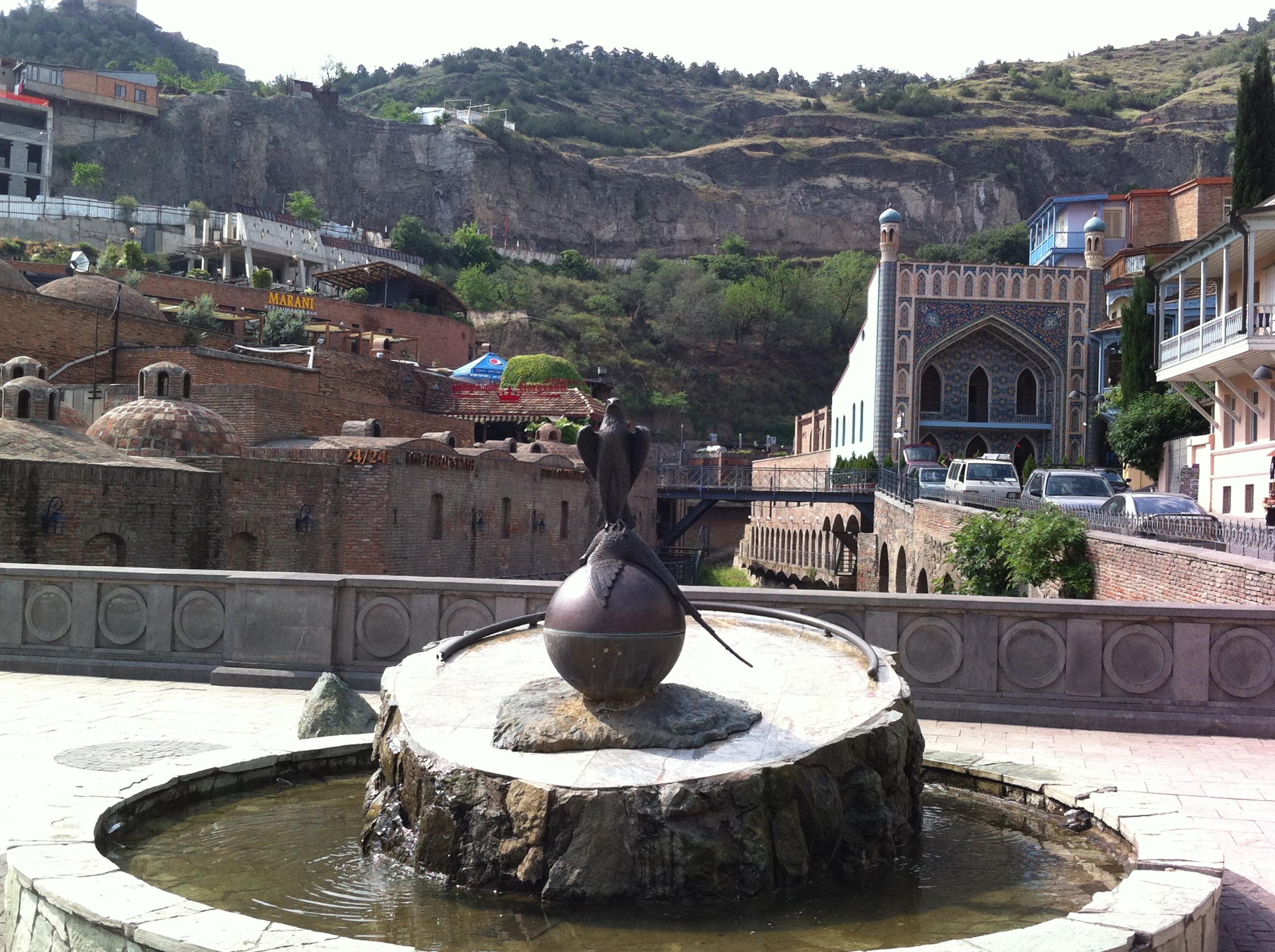 aguas sulforosas Tbilisi