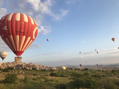 Passeio de Balão na Capadócia, Turquia.